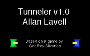 Tunneler2 Title Screen